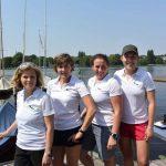 """Das Team """"Ostwind"""" des YCBG"""