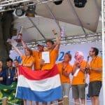 Erster Weltmeister im Segeln auf dem Müggelsee kommt aus den Niederlanden